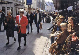 Kööpenhaminan Stroget 2000