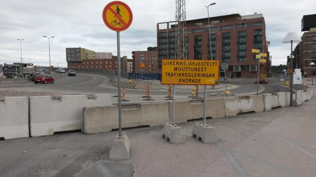 Toukokuussa 2015 pyöräilijät ja kävelijät kohtasivat tämän näyn