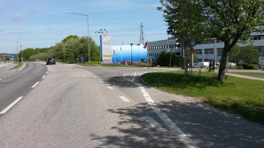 Tukholmassa osataan ratkaista liittymien ajonopeudet tapauskohtaisesti.