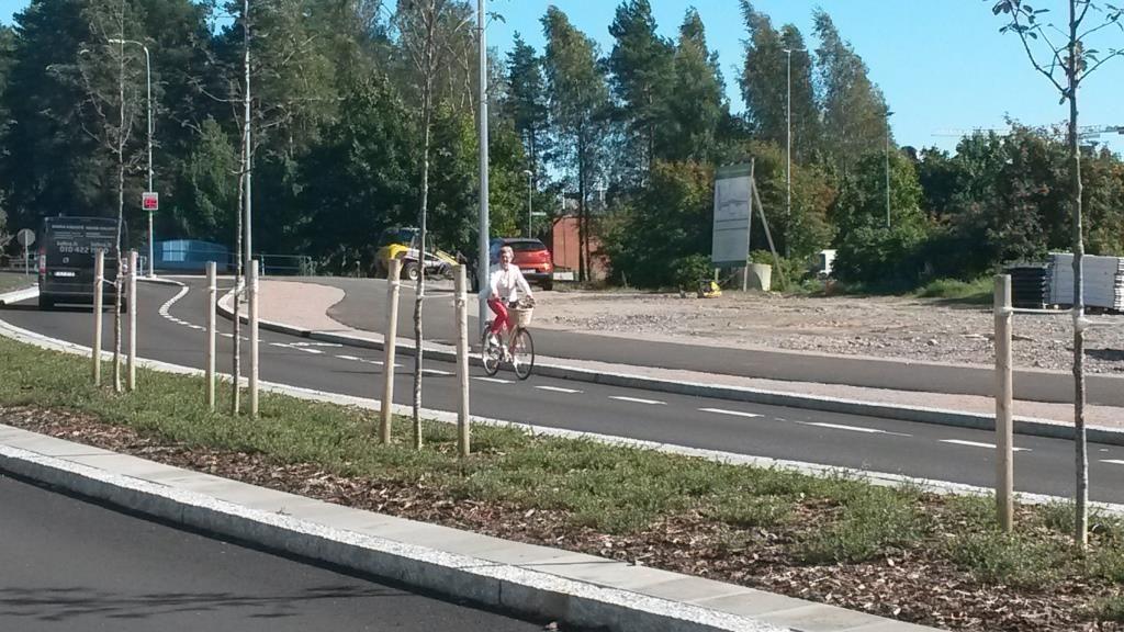 Uudet pyöräkaistat ovat saaneet uusia tyytyväisiä käyttäjiä.