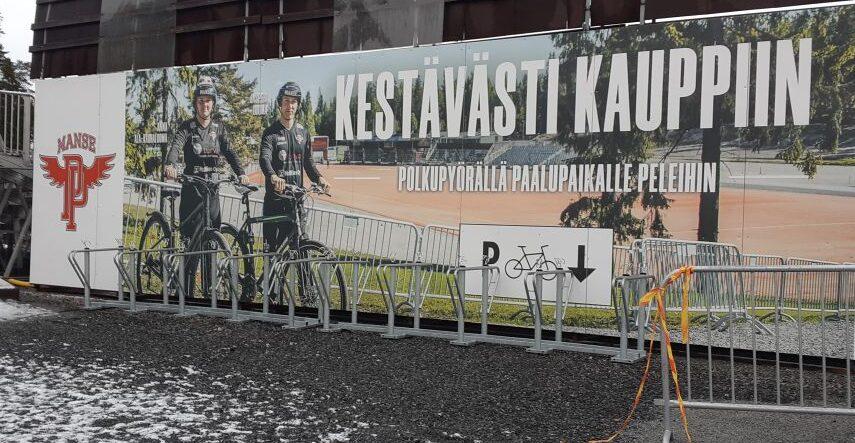 Kestävästi Kauppiin - mainos